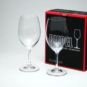 RIEDEL(リーデル) グラス オヴァチュアシリーズ 6408/00(×2)レッドワイン ペア - 拡大画像