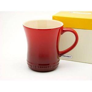 ル・クルーゼ (Le Creuset) マグカップS チェリーレッド(赤) - 拡大画像