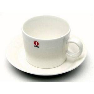 イッタラ ティーマ ティーカップ&ソーサー ホワイトの商品画像