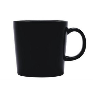 おしゃれでシンプルなテーブルウェア iittala Teema(イッタラ ティーマ)マグカップ300ml ブラック