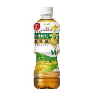 【まとめ買い】アサヒ 食事と一緒に十六茶W(ダブル) ペットボトル 500ml×24本(1ケース)【特定保健用食品/トクホ飲料】