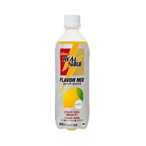 【まとめ買い】コカ・コーラ リアルゴールド フレーバーミックスレモン ペットボトル 500ml×24本(1ケース) - 拡大画像