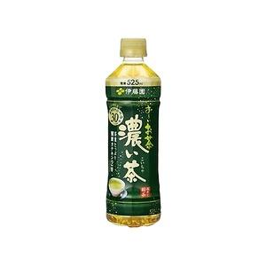 【まとめ買い】伊藤園おーいお茶濃い茶ペットボトル525ml×24本(1ケース)