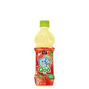 【セット販売】コカ・コーラ ミニッツメイド Qoo(クー) りんご ペットボトル 470ml×24本(1ケース)
