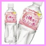 【まとめ買い】ポッカサッポロ 白桃香るおいしい水 ペットボトル 500ml×24本(1ケース)