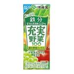 【まとめ買い】伊藤園 充実野菜 緑の野菜 紙パック 200ml×24本(1ケース)