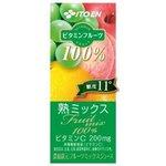 【まとめ買い】伊藤園 ビタミンフルーツ 熟ミックス 紙パック 200ml×24本(1ケース)