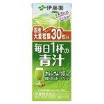 【まとめ買い】伊藤園 毎日1杯の青汁 紙パック 200ml×24本(1ケース)の画像