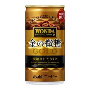 【まとめ買い】アサヒ ワンダ 金の微糖 缶 185g×30本入り(1ケース)