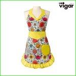 Vigar(ビガール)フリーダ エプロン ホワイト 6171