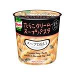 【まとめ買い】味の素 クノール スープDELI たらこクリームスープパスタ(豆乳仕立て) 44.7g×18カップ(6カップ×3ケース)