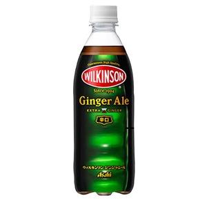 【まとめ買い】アサヒウィルキンソンジンジャエールペットボトル500ml×24本(1ケース)