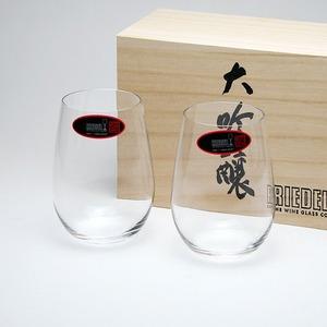 RIEDEL(リーデル) グラス オー 414/22-2 大吟醸オー/酒テイスターペア (木箱入り)