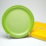 ル・クルーゼ (Le Creuset)  ラウンドプレート・LC 23cm フルーツグリーン