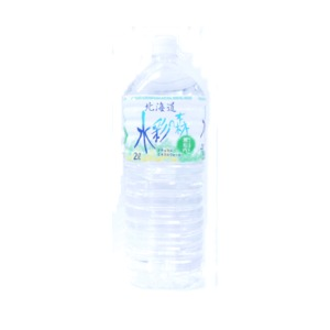 【6本入り】水彩の森 ミネラルウォーター 2L(2000ml) ペットボトル 1ケース(ケース販売)北海道黒松内の水 まとめ買い