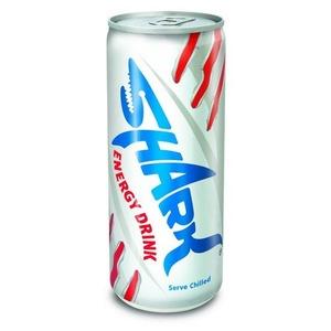 【まとめ買い】シャーク(SHARK) エナジードリンク 250ml 缶(かん) 1ケース24本入り(ケース販売) - 拡大画像