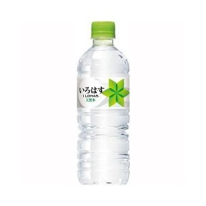 【まとめ買い】コカ・コーラい・ろ・は・す(ILOHAS)天然水ペットボトル555ml×48本入り【24本×2ケース】