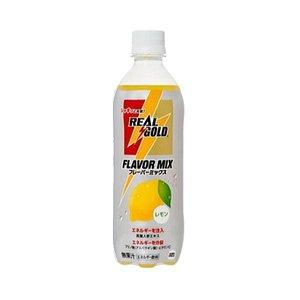 【まとめ買い】コカ・コーラ リアルゴールド フレーバーミックスレモン ペットボトル 500ml×48本【24本×2ケース】