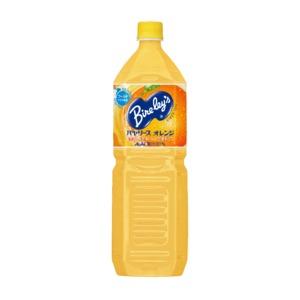 【まとめ買い】アサヒ バヤリース オレンジ ペットボトル 1.5L×16本【8本×2ケース】