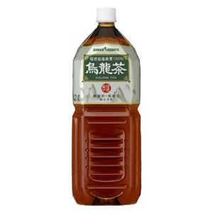 【まとめ買い】ポッカサッポロ烏龍茶ペットボトル2.0L12本入り【6本×2ケース】
