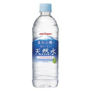 【まとめ買い】ポッカサッポロ 富士山麓のおいしい天然水 530ml ペットボトル 24本入り(1ケース)の詳細を見る