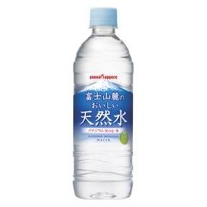 【まとめ買い】ポッカサッポロ 富士山麓のおいしい天然水 530ml ペットボトル 48本入り(24本×2ケース)の詳細を見る