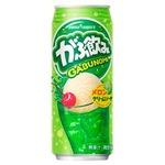 【まとめ買い】ポッカサッポロ がぶ飲み メロンクリームソーダ 500ml 缶 48本入り【24本×2ケース】