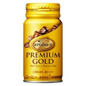 【まとめ買い】ポッカサッポロ アロマックス プレミアムゴールド 170ml リシール缶 30本入り(1ケース)