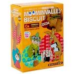 【まとめ買い】北陸製菓 ムーミン谷のビスケット ココア 90g×10箱