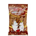 【まとめ買い】北陸製菓 ムーミン袋入りビスケット ココア 75g×20袋