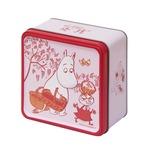 北陸製菓 ムーミン谷のビスケット 3枚×15袋 (ラズベリー缶)×【2缶セット】