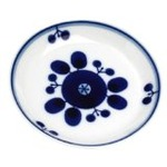 【まとめ買い】白山陶器 ブルーム プレートSS 11cm ブーケ 3枚組の画像
