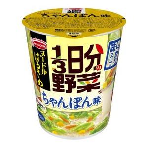 【まとめ買い】エースコック ヌードルはるさめ 1/3日分の野菜 ちゃんぽん味 43g×24カップ(6カップ×4ケース)