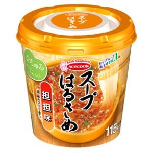 【まとめ買い】エースコック スープはるさめ 担担味 33g×24カップ(6カップ×4ケース)