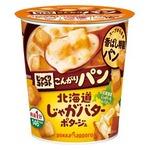 【まとめ買い】ポッカサッポロ じっくりコトコト こんがりパン 北海道じゃがバターポタージュ (カップ) 32.3g×24カップ(6カップ×4ケース)