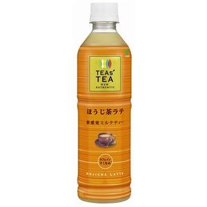 【まとめ買い】伊藤園 TEAs' TEA NEW AUTHENTIC ほうじ茶ラテ 450ml×24本(1ケース) PET