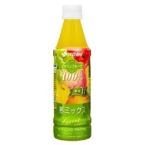 【まとめ買い】伊藤園 ビタミンフルーツ 熟ミックス PET 350g×24本(1ケース)