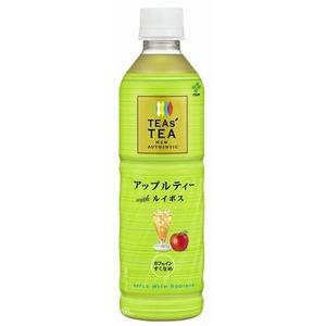【まとめ買い】伊藤園 TEAs' TEA NEW AUTHENTIC アップルティーwithルイボス 450ml×24本(1ケース) PET