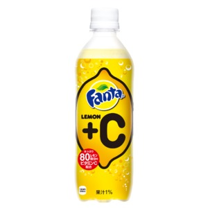 【まとめ買い】コカ・コーラ ファンタ レモン+C ペットボトル 490ml×24本(1ケース)