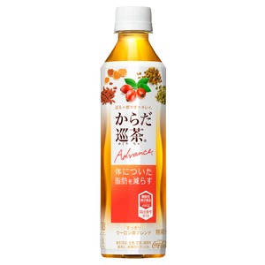 【まとめ買い】コカ・コーラ からだ巡茶 Advance(アドバンス) 【機能性表示食品】 ペットボトル 410ml×24本(1ケース)
