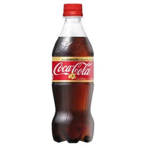 【まとめ買い】コカ・コーラ ジンジャー 500ml PET 24本入り【1ケース】
