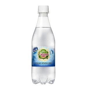 【まとめ買い】コカ・コーラ カナダドライ クリアスパークリング ペットボトル 500ml×48本(24本×2ケース)