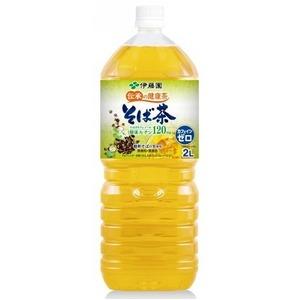 【まとめ買い】伊藤園 伝承の健康茶 そば茶 ペットボトル 2.0L×6本【1ケース】