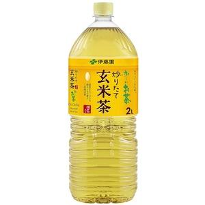 【まとめ買い】伊藤園おーいお茶抹茶入り玄米茶ペットボトル2.0L×6本(1ケース)