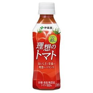 【まとめ買い】伊藤園 理想のトマト PET 265g×48本(24本×2ケース)
