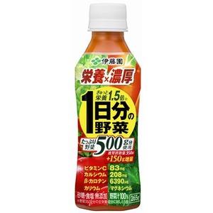 【まとめ買い】伊藤園 栄養×濃厚 一日分の野菜 PET 265g×48本(24本×2ケース)