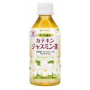 【まとめ買い】伊藤園 2つの働き カテキンジャスミン茶 PET 350ml×24本(1ケース)