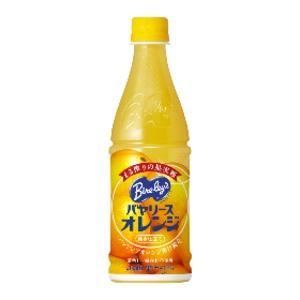 【まとめ買い】アサヒ バヤリース オレンジ ペットボトル 430ml×24本(1ケース)