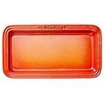 ル・クルーゼ (Le Creuset) レクタンギュラー・プレート LC オレンジ