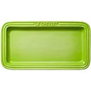 ル・クルーゼ (Le Creuset) レクタンギュラー・プレート LC フルーツグリーン